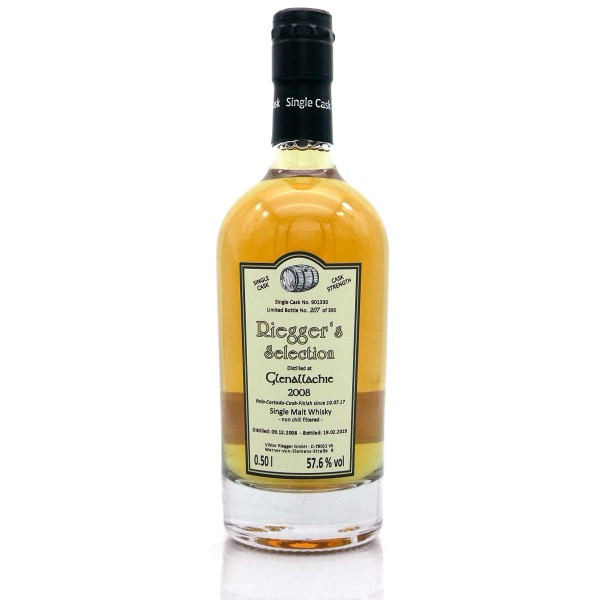 Glenallachie 2008-2019 Sherry Palo Cortado Finish 57,6 % vol Cask Strength Riegger's Selection