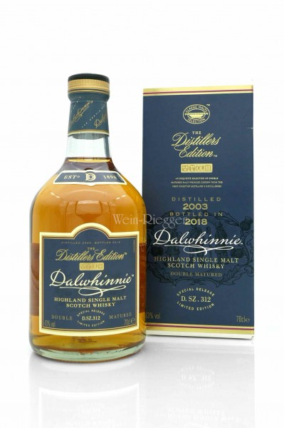 Dalwhinnie 2003 Distillers Edition Bottled 2018 D.SZ.312