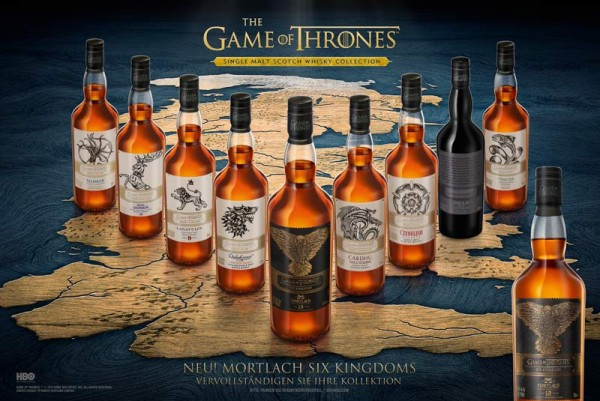 Game of Thrones Single Malts Scotch Whisky Collection 9er Set GoT