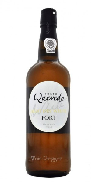 Light Dry White Port 17 % vol - Quevedo Porto