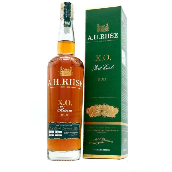 A.H. Riise X.O. Port Cask Vintage 2019 | Limited Edition Rum