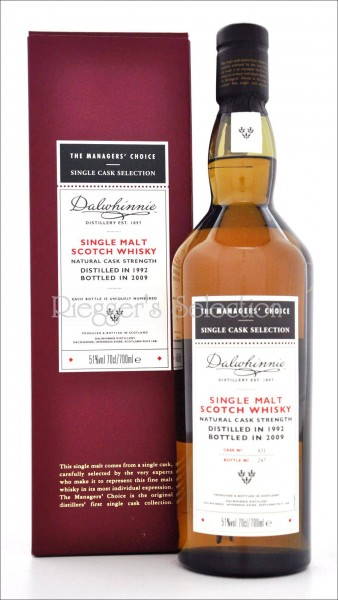 Dalwhinnie The Managers Choice 1992