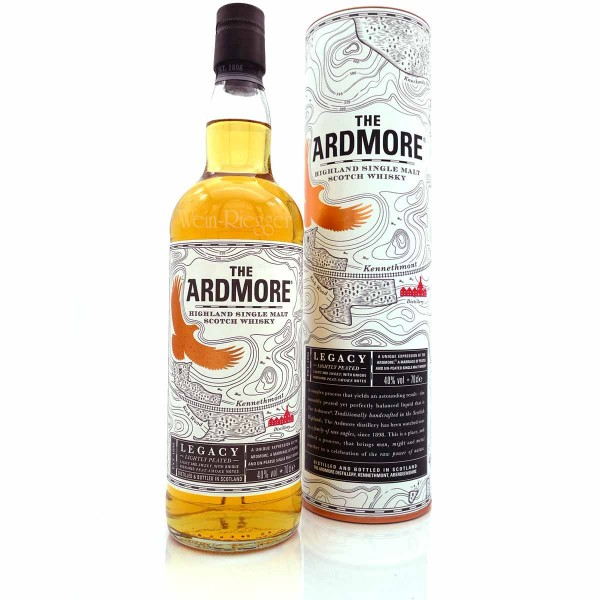 Ardmore legacy lightly peated
