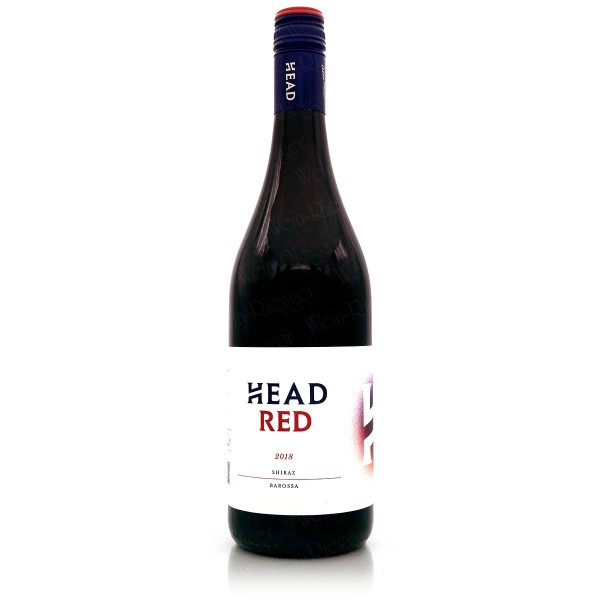 Head Red SHIRAZ 2018 Barossa - Australien