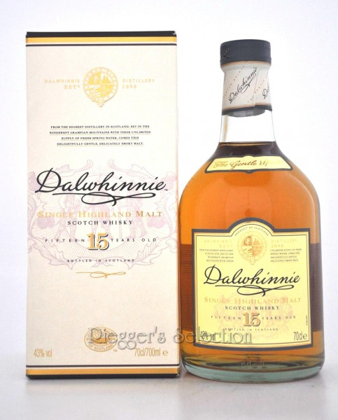 Dalwhinnie Scotch 15 Jahre