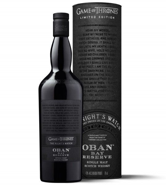 Oban Bay Reserve - The Nights Watch Game of Thrones