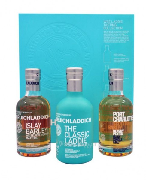 Wee Laddie Tasting Collection Bruichladdich - 3 x 0,2l