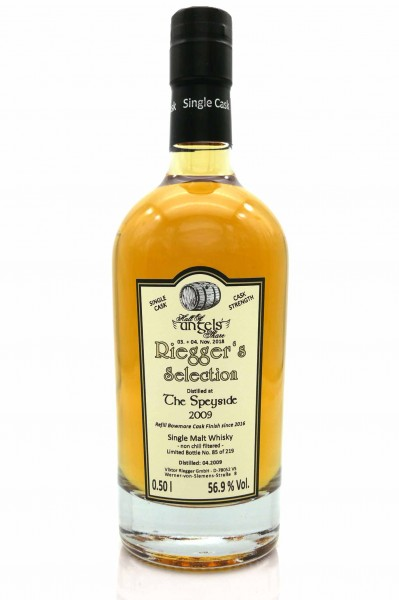 The Speyside 2009 - Riegger's Selection (56,9 % vol)