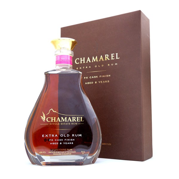 Chamarel XO PX Cask Finish (8 Jahre) Extra Old Rum - Mauritius