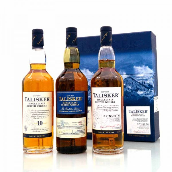 The Classic Malts Collection Talisker blau