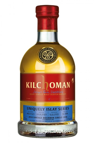 Kilchoman 2010 Vintage Bourbon Single Cask 425/2010 - 56,5 % vol - An Geamhradh 2020
