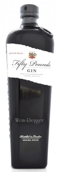 Fifty Pounds London Dry Gin