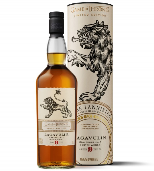 Lagavulin 9 Jahre - Haus Lannister Game of Thrones