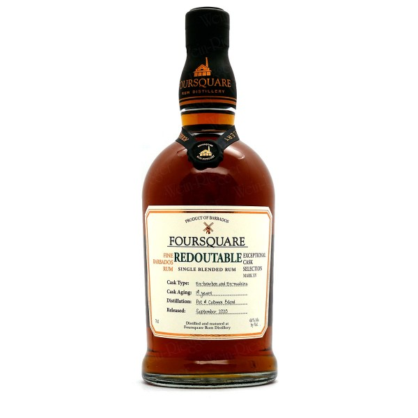 Foursquare Redoutable 61 % vol - Mark XV Exceptional Cask Selection