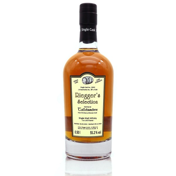 Tullibardine 2013 First Fill Sherry Oloroso Cask Riegger's Selection