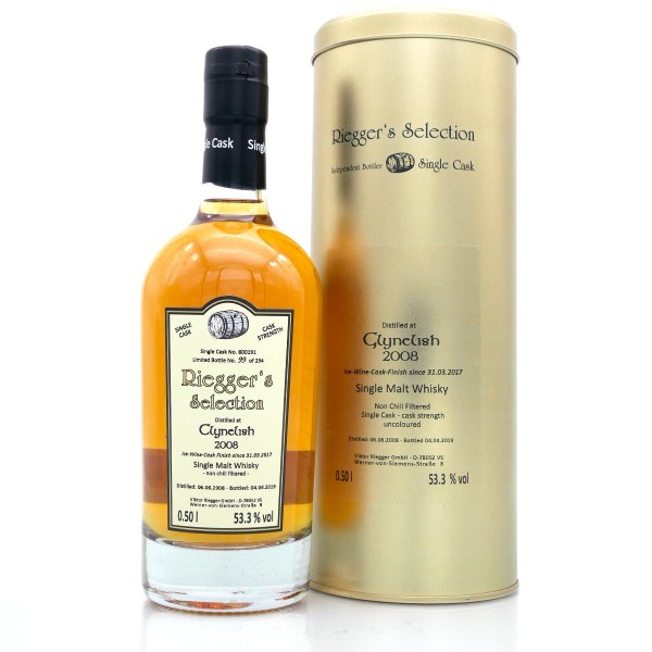Clynelish 2008 Ice Wine Cask Finish - Riegger's Selection (53,3 % vol)