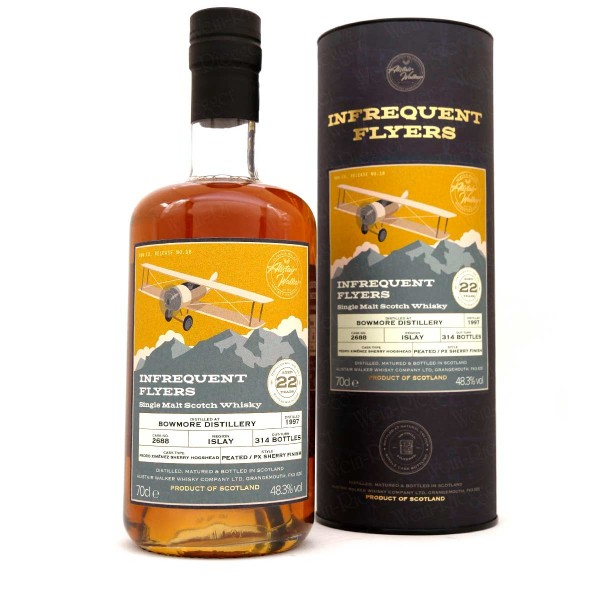 Bowmore 22 Jahre - Infrequent Flyers Release No. 18 | Alistair Walker